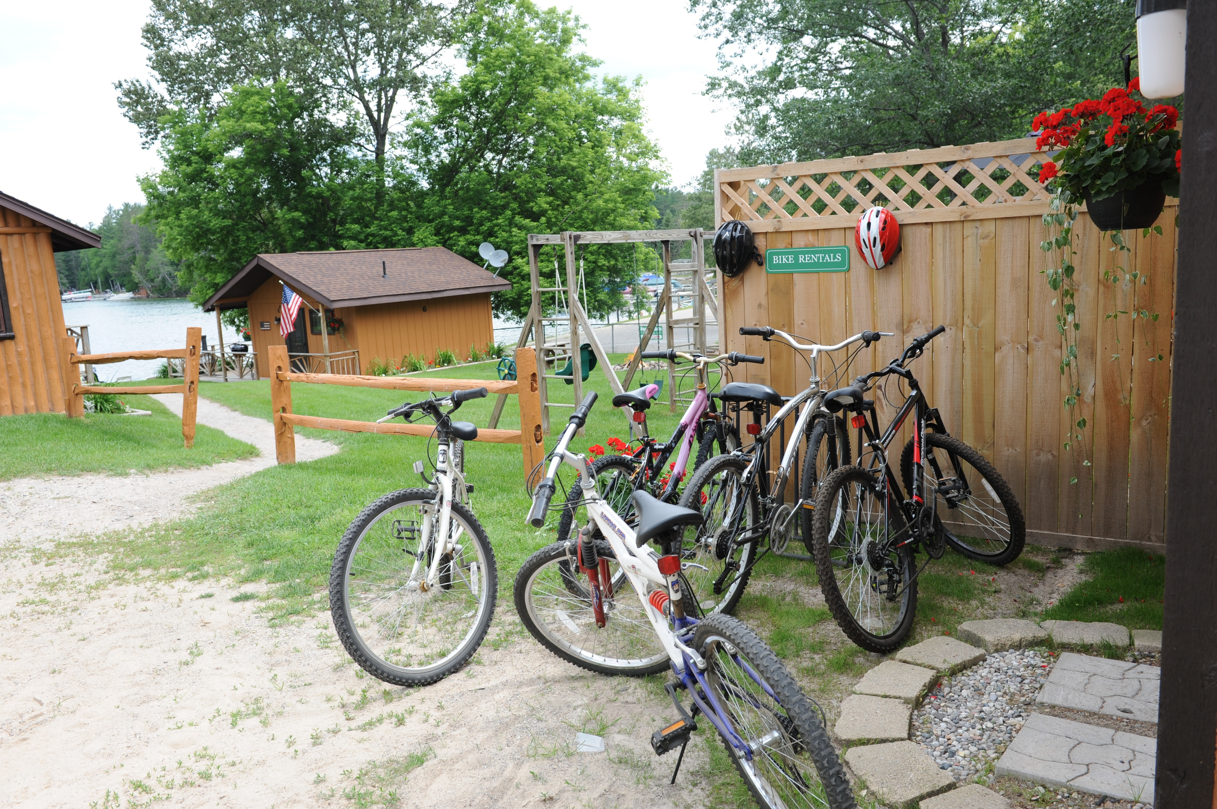 Clear Lake Resort Bike Rentals