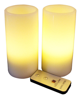 Clear Lake Resort LED Candles