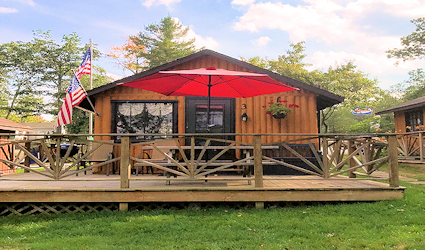 Clear Lake Resort Lake Front Cabin Three 425 x 250