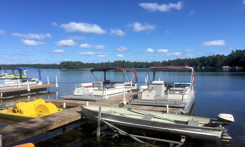 Clear Lake Resort Michigan Lodging Family Vacation Resort