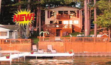 Lake Front Home  - Cabin Eleven New 425
