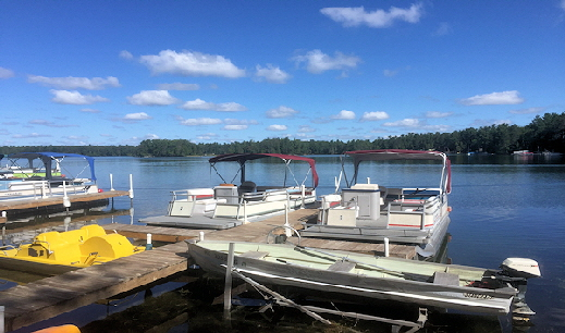 Clear Lake West Branch Michigan Boat Rental On Site!